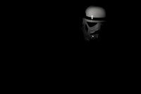 Stormtrooper in the dark