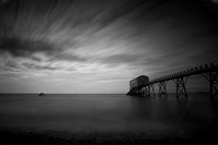 Selsey Lifeboat Station in darkness